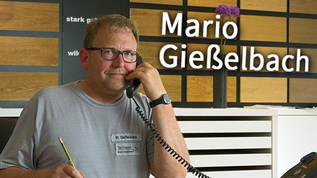 Tischlerei Mario Gießelbach Portrait